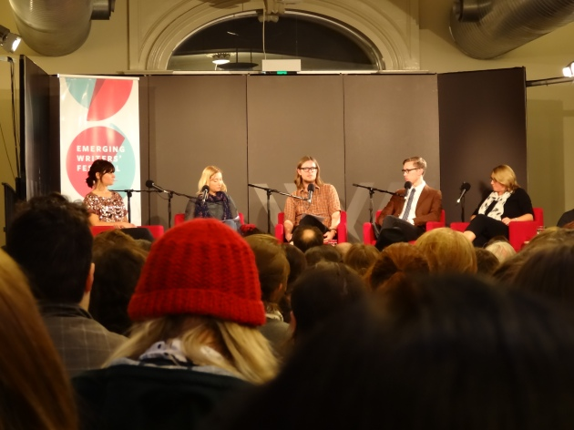 The Wheeler Centre was packed out with emerging artists keen to maximise their chances of a successful pitch
